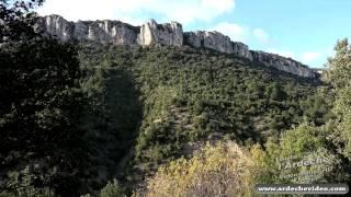 Ardèche - La Cascade de Pissevieille en crue