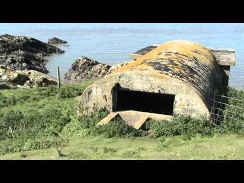 Exploring Flat Holm Island. derelict gun emplacements & more..