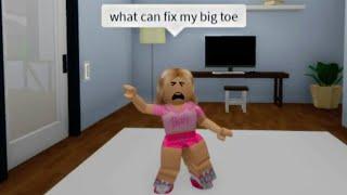 Mommy mommy I hurt my toe... (meme) ROBLOX