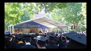 Celebrating Carleton's 143rd Commencement Ceremony