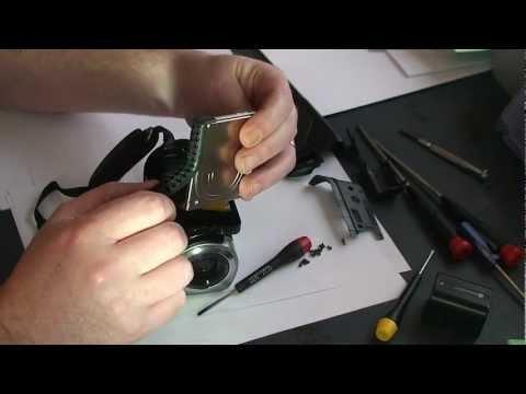 Repairing or Upgrading a Sony Handycam DCR-SR65