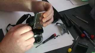 Repairing or Upgrading a Sony Handycam DCR-SR65