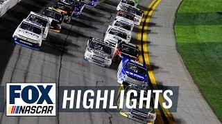 Chaos ensues at the NextEra Energy 250 at Daytona | NASCAR ON FOX HIGHLIGHTS