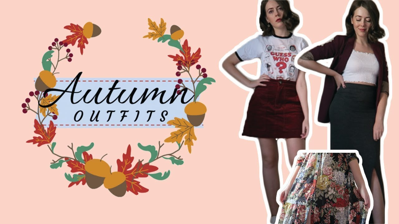 [VIDEO] - Autumn Outfit Ideas | Fall Lookbook 4