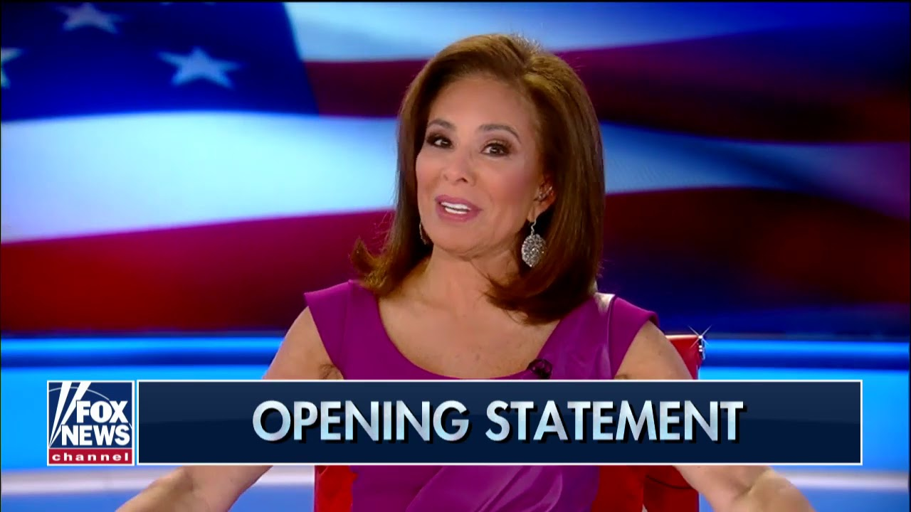 Image result for Judge Jeanine: Clear double standard between left and right