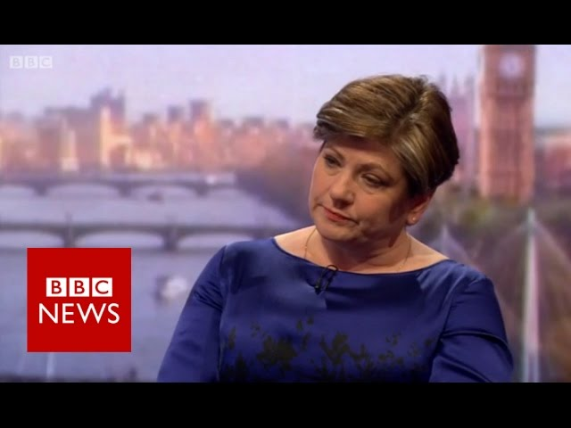 Emily Thornberry said  'everything still to play for' in election - BBC News