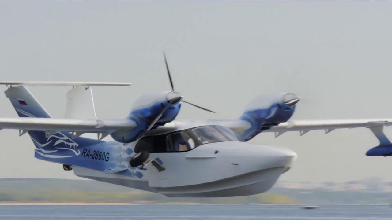 Амфибия Борей. Первая серийная. Малая авиация. Гидросамолет - YouTube
