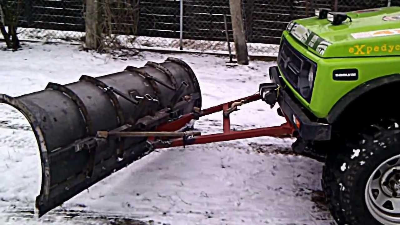 Suzuki Samurai Snow Plow