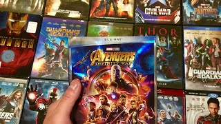 Avengers Infinity War + DVD & Blu-Ray Haul