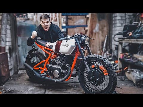Мотоцикл ИЖ Cafe Racer ГОТОВ