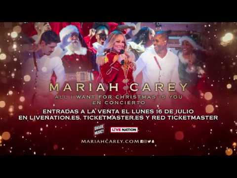 Mariah Carey – All I Want For Christmas Is You Tour' – Madrid