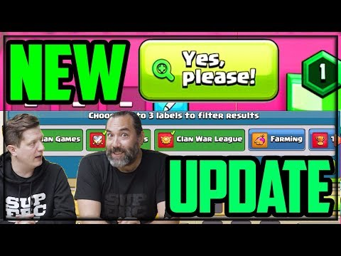 NEW UPDATE Details! Clash Of Clans October Update