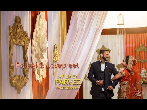 Aaya Ladiye Ni Tera Sereya Wala New - Latest Sikh Wedding Video - Pallavi & Lovepreet