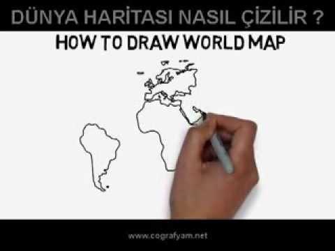 Dünya Haritası Nasıl çizilir Youtube