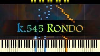Piano Sonata No. 16, K.545 (3rd mvt) // MOZART