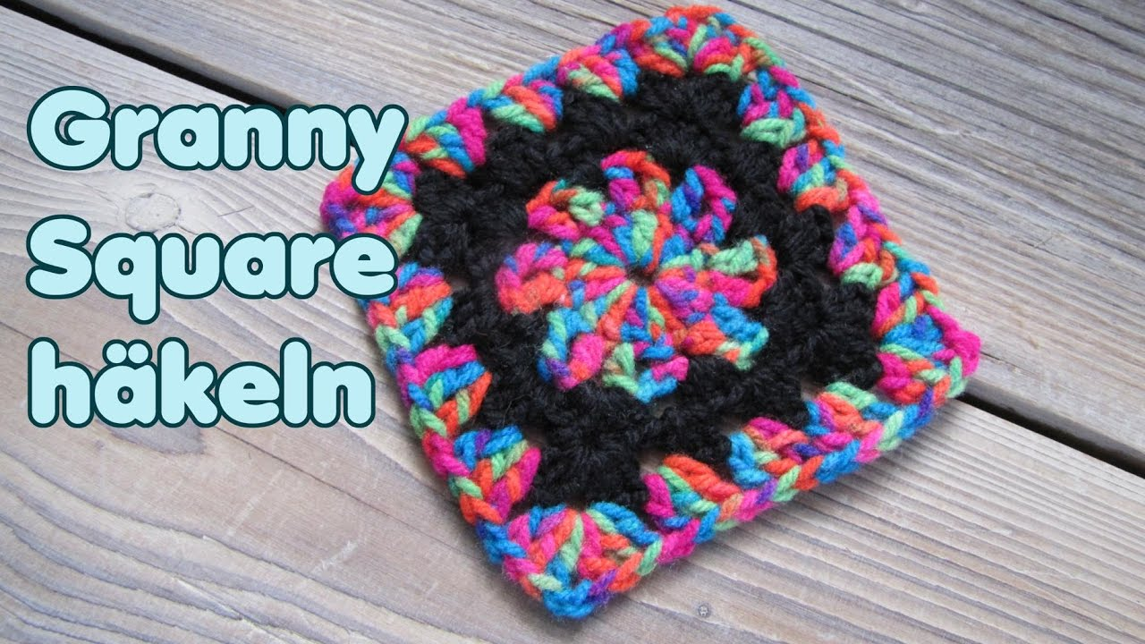 Granny Square Sehr Leicht Anleitung Youtube