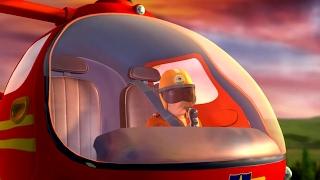 Feuerwehrmann Sam Deutsch | Cartoon für Kinder | Hubschrauber rettet