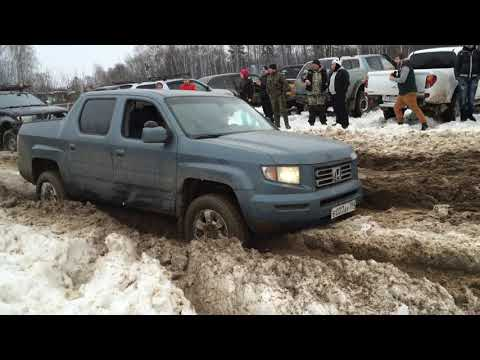 Honda Ridgeline Off Road Snow