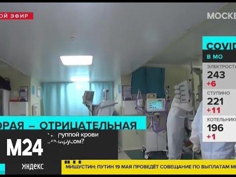 Действительно ли люди со II группой крови наиболее подвержены коронавирусу - Москва 24