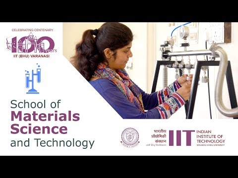 IIT BHU |  School of Materials Science and Technology
