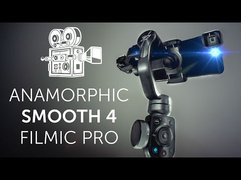 How To Go Full Cinematic On Smartphone (Anamorphic Lens + Smooth 4 + Filmic Pro)