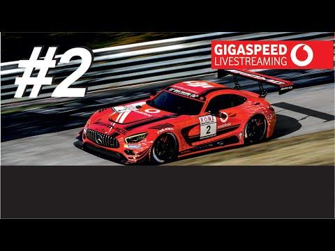 #2 Vodafone Mercedes-AMG GT3 GetSpeed VLN9 - Rennen