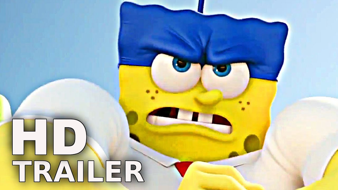 Spongebob Schwammkopf 3d Trailer Deutsch German Hd Film 2015 Youtube