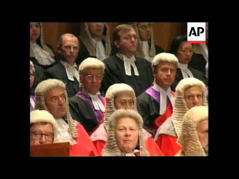 HONG KONG: JUDGES & LAWYERS' CEREMONY TO MARK START OF LEGAL YEAR