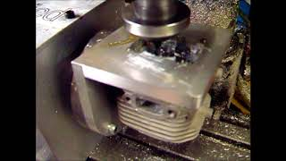Oddified CNC Machined Zenoah RC Cylinder