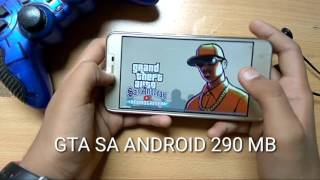 How To Download GTA SA Full Game At Only 290 MB On Android + Gameplay..
