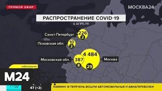 За сутки в России подтвердили 954 случая коронавирусной инфекции - Москва 24