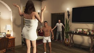 What Franklin and Amanda Do In Michael's House After His Death in GTA 5? (Trevor Caught Them)