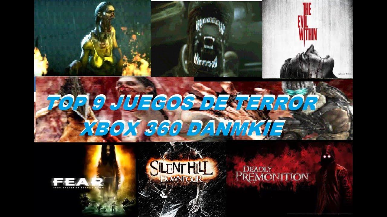 TOP 9 DE LOS MEJORES JUEGOS DE TERROR XBOX 360