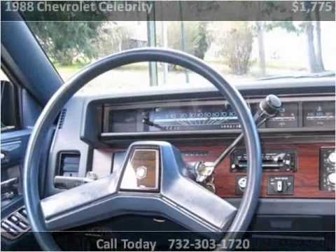 1988 Chevrolet Celebrity Used Cars Marlboro NJ - YouTube