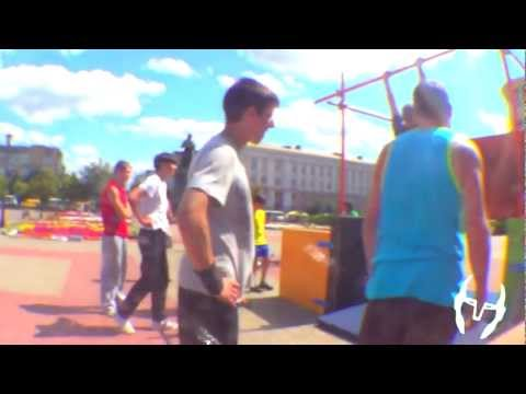 ParkourCITY Russia Tour in Kursk 11.08.2012