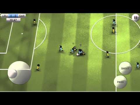 Stickman Soccer - Uruguay 1 / Sweden 0