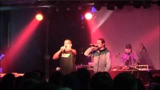 Hiob (mit Audio88 & Dj V.Raeter) Live in Leipzig - 99 Karrees