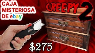 Abro Caja Misteriosa CREEPY 2 de Ebay 📦❓   Caja Sorpresa