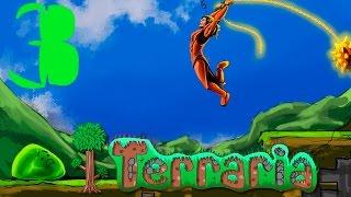 Прохождение Terraria #3 - Первый крюк