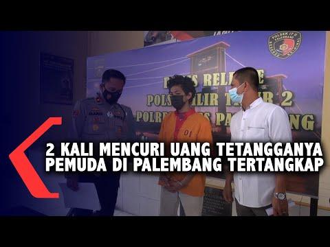 2 Kali Mencuri Uang Tetangganya Pemuda Di Palembang Tertangkap