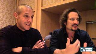 Sons of Anarchy Season 7: Theo Rossi & Kim Coates Interview