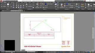 Setting up page setups | AutoCAD: Construction Drawings from LinkedIn Learning