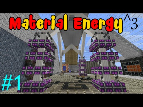 Material Energy ^3 - Part 1 - A Whole New Concept