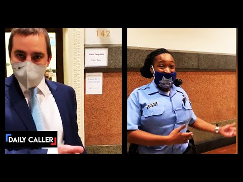 DC SHORTS - Poll Watcher Thrown Out Of City Hall In Philadelphia