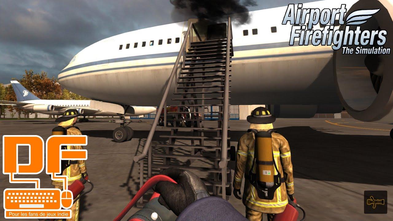 airport firefighters the simulation on joue le role d 39 un pompier p g fr youtube. Black Bedroom Furniture Sets. Home Design Ideas