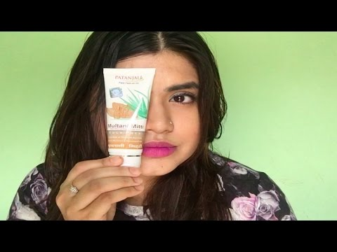 Patanjali Multani Mitti pack review | Natural product has paraben ? | SimpleTips Anwesha
