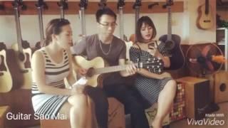 Anh cứ đi đi [Guitar cover] Tùng acoustic - Mai Min - Dương Thùy Ngân