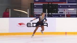 Всероссийские соревнования 'Надежды Росс Дeвушки, KMC Произвольная программа 8# Дарья БАТЯЕВА  СВО