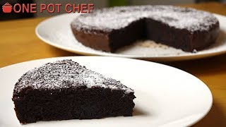 2 Ingredient Chocolate Cake | One Pot Chef