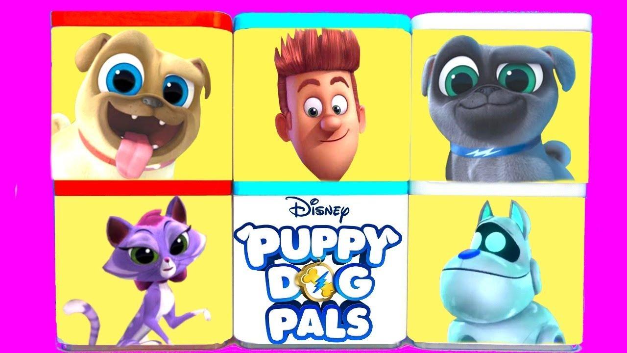 Puppy And Dog Pals Hissy Arf Bingo Rolly